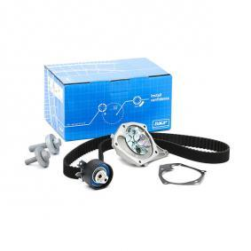 Water pump and timing belt kit with OEM Number 16806 00 QBE