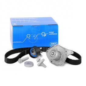 Water pump and timing belt kit with OEM Number 1680600QBE
