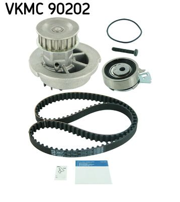 Zahnriemensatz mit Wasserpumpe SKF VKMA05121 Bewertung