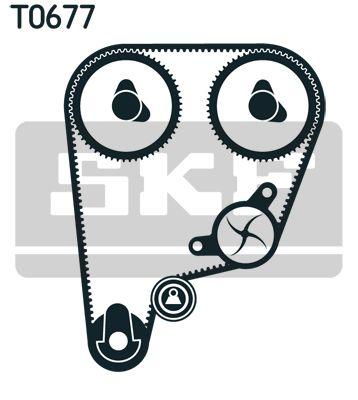 Zahnriemensatz mit Wasserpumpe SKF VKMA93210 Bewertung