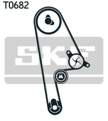 Bomba de Agua + Juego de Distribución SKF VKMA93616 evaluación