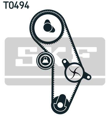 Zahnriemensatz mit Wasserpumpe SKF VKPC95005 Bewertung