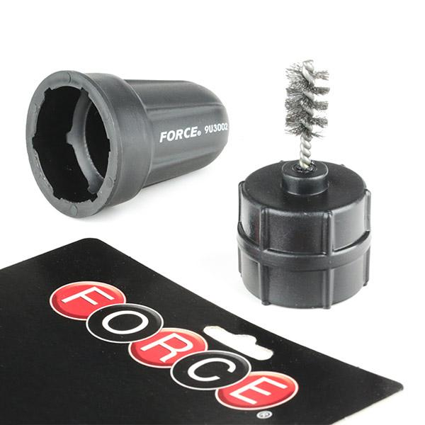 Szczotka druciana, czyszczenie biegunów i klem akumulatora FORCE 9U3002 fachowa wiedza