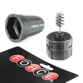 FORCE  9U3002 Szczotka druciana, czyszczenie biegunów i klem akumulatora