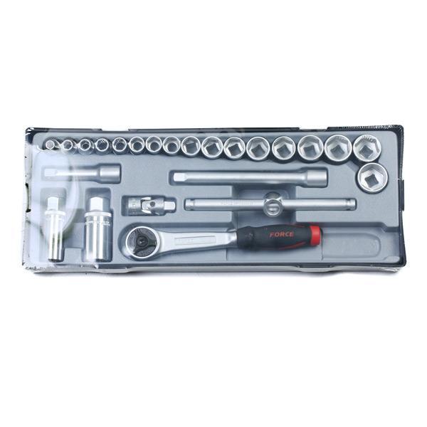 Werkzeugsatz FORCE T3251-72-5 Erfahrung