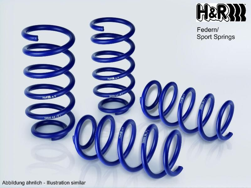 Kit molas H&R 28933-1 conhecimento especializado
