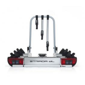 Cykelhållare, bakräcke min. cykel-ramhöjd: 25mm, max. cykelramstorlek: 80mm 022601