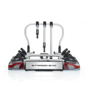 Cykelhållare, bakräcke min. cykel-ramhöjd: 25mm, max. cykelramstorlek: 80mm 022701
