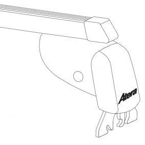 Estrutura de transporte no tejadilho / barras de tejadilho Comprimento: 110cm 044123 OPEL CORSA, ASTRA, VECTRA