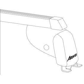 Barre portapacchi / barre portatutto Lunghezza: 137cm 044157 FIAT Scudo (270_, 272_)