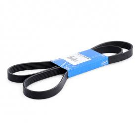 V-Ribbed Belts VKMV 6PK1698 SCIROCCO (137, 138) 1.4 TSI MY 2009
