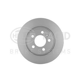 Bremsscheibe Bremsscheibendicke: 10mm, Ø: 272mm mit OEM-Nummer 6R0 615 601B