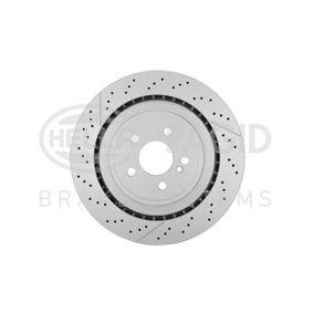 Brake Disc 8DD 355 126-871 E-Class Saloon (W212) E 63 AMG 5.5 (212.074) MY 2012