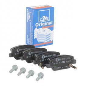 Bremsbelagsatz, Scheibenbremse Breite: 99,8mm, Höhe: 42,1mm, Dicke/Stärke: 17,6mm mit OEM-Nummer 7 736 771 7