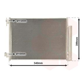 Kondensator, Klimaanlage mit OEM-Nummer 4535000054