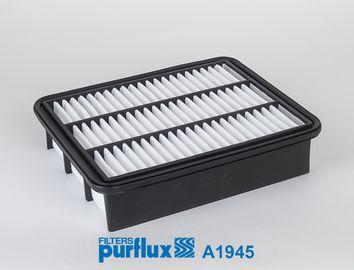 PURFLUX  A1945 Filtro de aire Long.: 250mm, Ancho: 202mm, Altura: 58mm