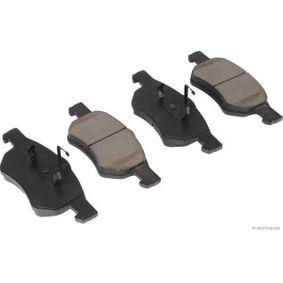 Bremsbelagsatz, Scheibenbremse Breite 1: 69,2mm, Breite 2: 72,6mm, Dicke/Stärke 2: 17,7mm mit OEM-Nummer 5015 365AA