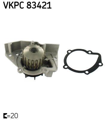 Kühlwasserpumpe SKF VKPC 83421 Bewertung