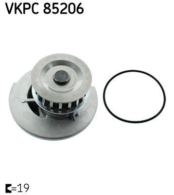 Artikelnummer VKPC 85206 SKF Preise