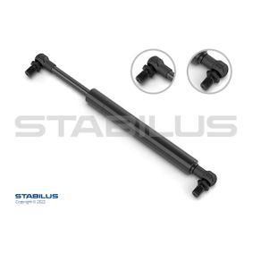 Heckklappendämpfer / Gasfeder Länge: 450mm, Hub: 180mm mit OEM-Nummer 81860-A80100