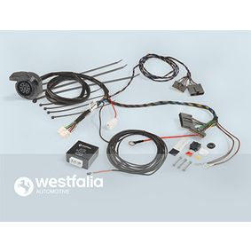 WESTFALIA Elektrosatz, Anhängevorrichtung 305210300113 für AUDI A4 Cabriolet (8H7, B6, 8HE, B7) 3.2 FSI ab Baujahr 01.2006, 255 PS