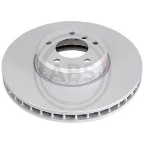 Bremsscheibe Bremsscheibendicke: 36mm, Felge: 5-loch, Ø: 348mm mit OEM-Nummer 34116779467