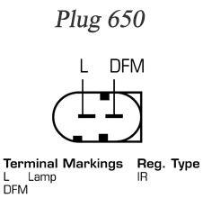 DELCO REMY  RAA23651 Lichtmaschine Rippenanzahl: 6