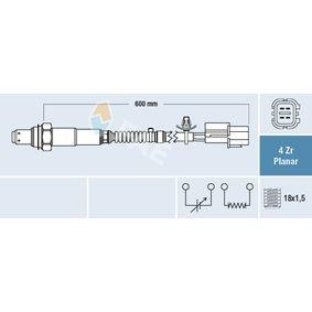 Lambdasonde Kabellänge: 600mm mit OEM-Nummer 39210 2B130