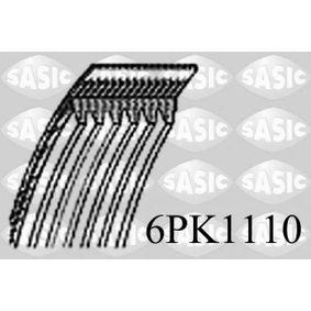 V-Ribbed Belts 6PK1110 SCIROCCO (137, 138) 2.0 TSI MY 2014