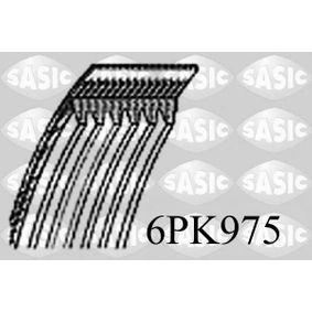 Correa trapecial poli V Long.: 975mm, Número de nervaduras: 6 con OEM número 037903137C