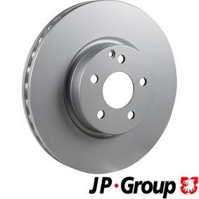 Brake Disc 1363101700 E-Class Saloon (W212) E 350 3.5 4-matic (212.088) MY 2011