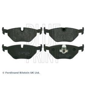 Bremsbelagsatz, Scheibenbremse Breite: 44,6mm, Dicke/Stärke 1: 16,8mm mit OEM-Nummer 34 21 2 157 591