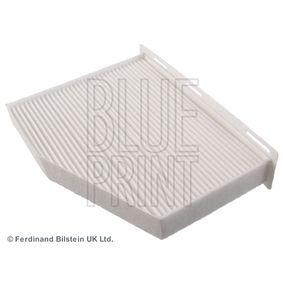 Filter, Innenraumluft Länge: 288mm, Breite: 215,0mm, Höhe: 34mm mit OEM-Nummer 1 K0 819 644