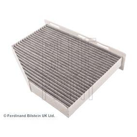 Filter, Innenraumluft Länge: 288mm, Breite: 213,0mm, Höhe: 34mm mit OEM-Nummer 1K1819653