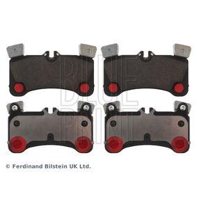 Bremsbelagsatz, Scheibenbremse Breite: 77,0mm, Dicke/Stärke 1: 16,2mm mit OEM-Nummer 955.352.939.61