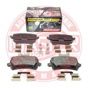 Bremsbelagsatz, Scheibenbremse Breite: 105,2mm, Höhe: 56,4mm, Dicke/Stärke: 16,9mm mit OEM-Nummer 5N0.698.451