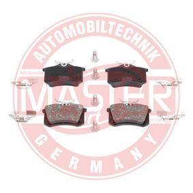 Bremsbelagsatz, Scheibenbremse Breite: 87,6mm, Höhe: 52,9mm, Dicke/Stärke: 17,2mm mit OEM-Nummer 1J0 698 451N