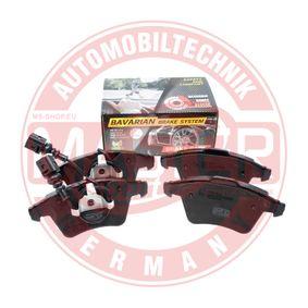 Brake Pad Set, disc brake Width 1: 156,2mm, Width 2 [mm]: 155,0mm, Height 1: 74,8mm, Height 2: 73,3mm, Thickness 1: 19,1mm, Thickness 2: 19,6mm with OEM Number 7L6 698 151F