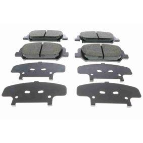 Bremsbelagsatz, Scheibenbremse Breite: 141mm, Höhe: 59,9mm, Dicke/Stärke: 18mm mit OEM-Nummer 58101A6A20(-)
