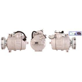 Compresor, aire acondicionado Polea Ø: 110,0mm, Número de canales: 4 con OEM número 8E0 260 805 AH