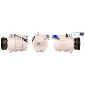 Compresor, aire acondicionado Polea Ø: 110,0mm, Número de canales: 4 con OEM número 8E0260805N