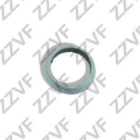 Dichtring, Abgasrohr Dicke/Stärke: 15mm, Innendurchmesser: 54mm, Ø: 69mm mit OEM-Nummer 20695-8H310