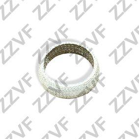 Dichtring, Abgasrohr Innendurchmesser: 54mm, Ø: 69mm mit OEM-Nummer 206958H310