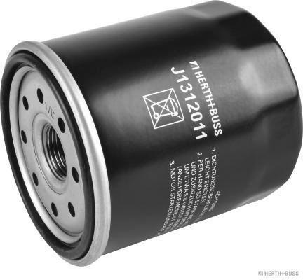 HERTH+BUSS JAKOPARTS  J1312011 Ölfilter Ø: 75mm, Länge: 85mm, Länge: 85mm