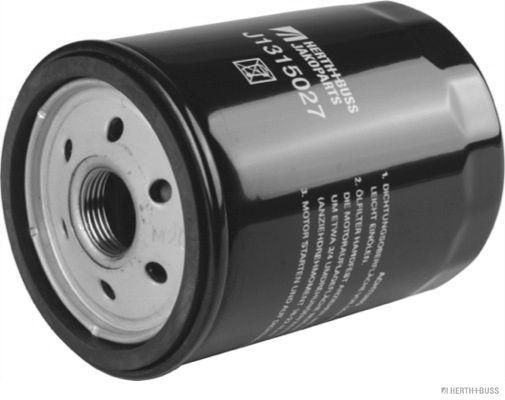 HERTH+BUSS JAKOPARTS  J1315027 Ölfilter Ø: 76mm, Länge: 103mm, Länge: 103mm