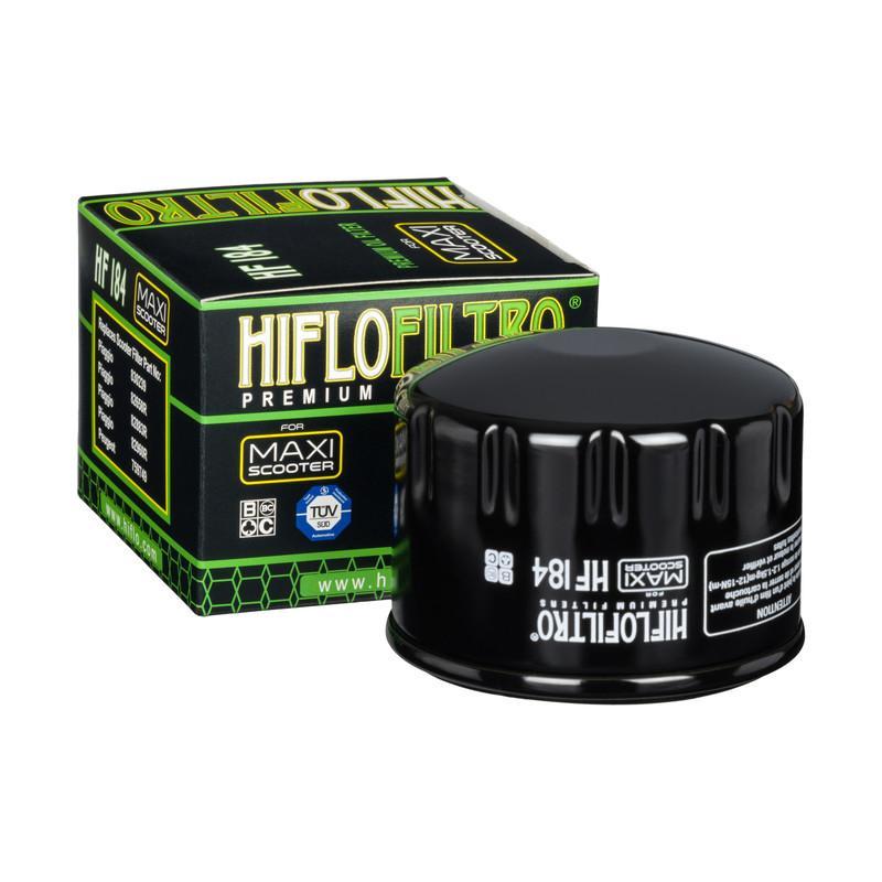 HifloFiltro  HF184 Ölfilter Ø: 76mm, Höhe: 57mm