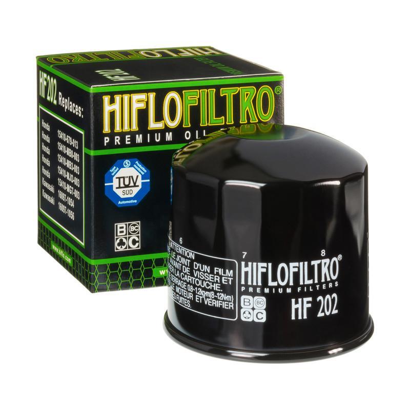 HifloFiltro  HF202 Ölfilter Ø: 80mm, Höhe: 80mm