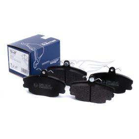 Bremsbelagsatz, Scheibenbremse Breite: 100mm, Höhe: 63,5mm, Dicke/Stärke: 18mm mit OEM-Nummer 6025071 042