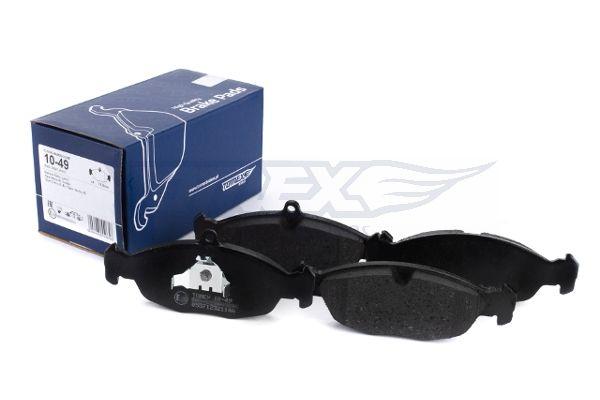 Комплект спирачно феродо, дискови спирачки TOMEX brakes 20547 оценка