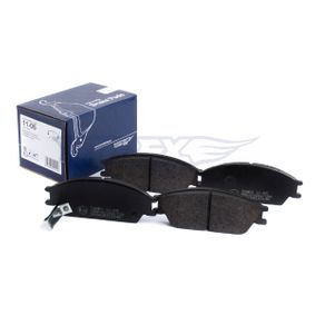 Bremsbelagsatz, Scheibenbremse Breite: 127,5mm, Höhe: 49mm, Dicke/Stärke: 14,8mm mit OEM-Nummer 58101 25A20